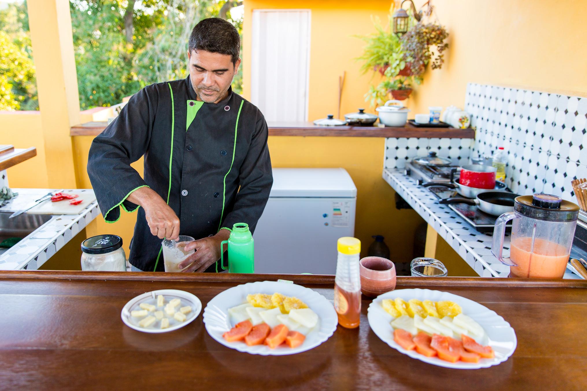 Breakfast at Casa-Particular-Trinidad,Cuba
