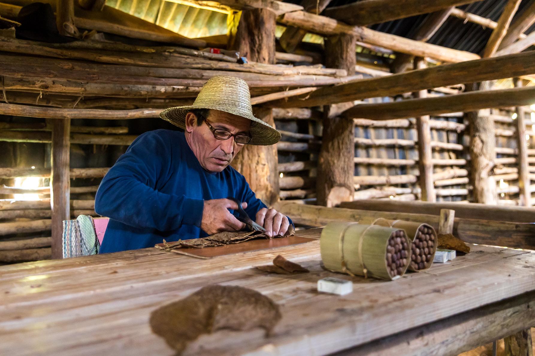 Tobacco farmer, Vinales, Cuba.
